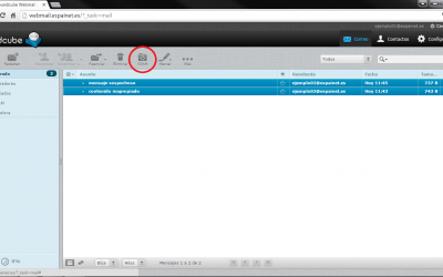 Filtrar spam desde webmail