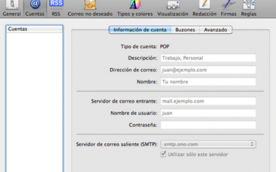 Configurar correo en Outlook para MAC