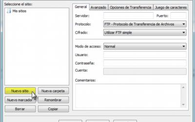 Programa FTP – FileZilla