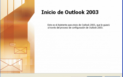 Configurar correo en Microsoft Outlook 2003