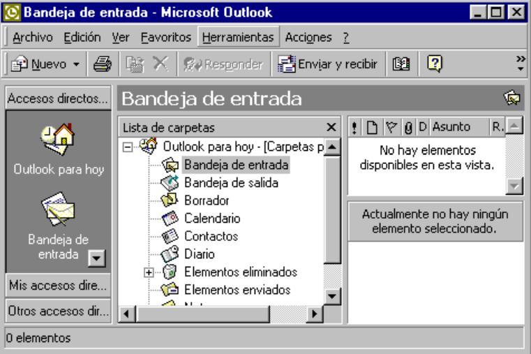 Configurar correo en Microsoft Outlook 2000