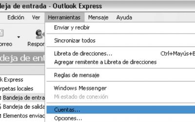 Configurar correo en Outlook Express