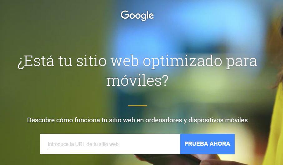 Testmysite de Google – Prueba mi sitio